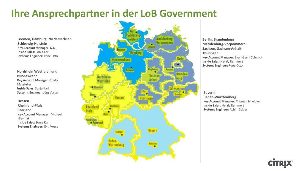 Ihre Ansprechpartner in der LoB Government