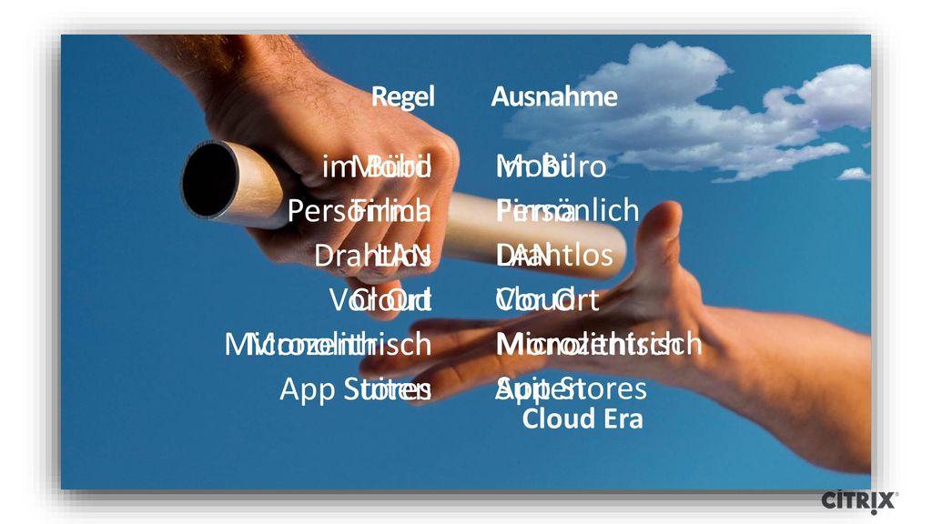 Mobil Persönlich Drahtlos Cloud Microzentrisch App Stores im Büro
