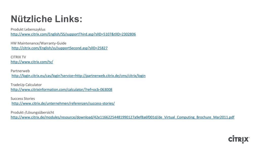 Nützliche Links: