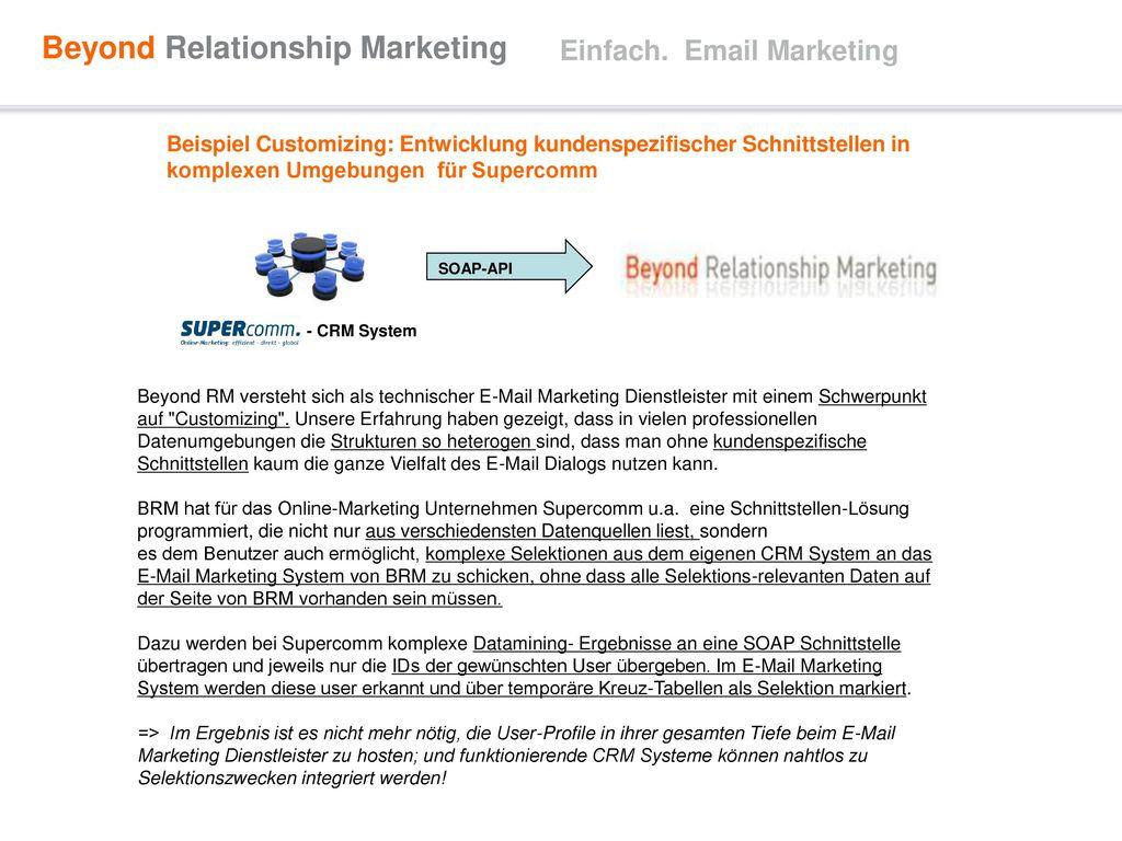 Einfach. Email Marketing