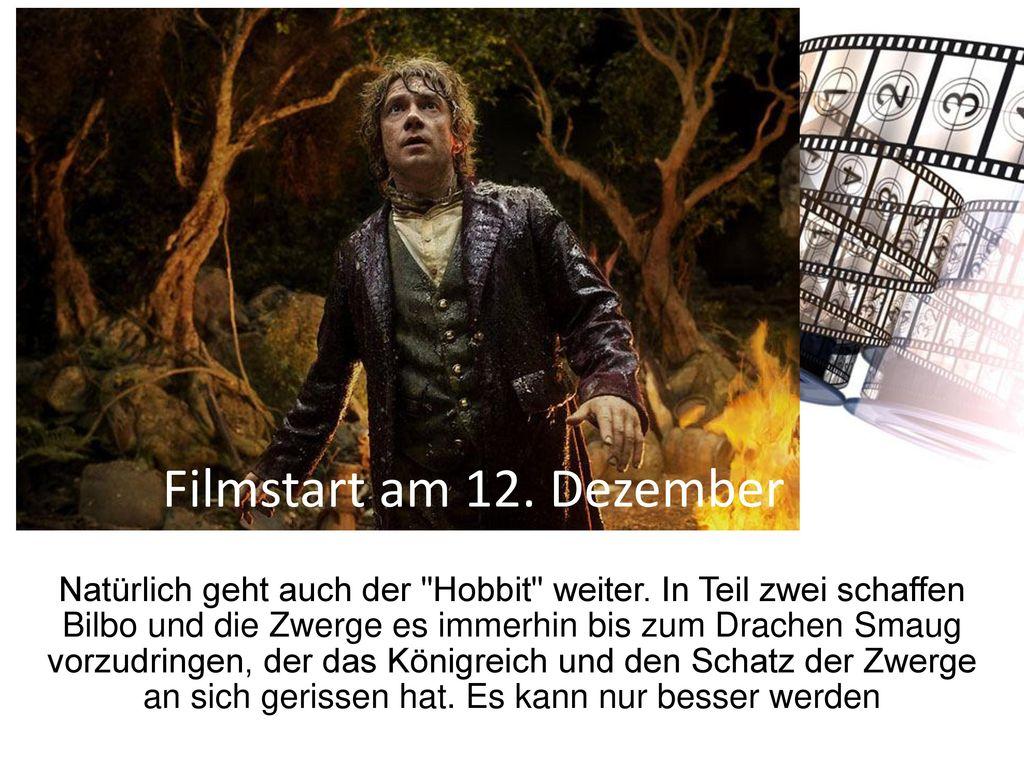 Filmstart am 12. Dezember