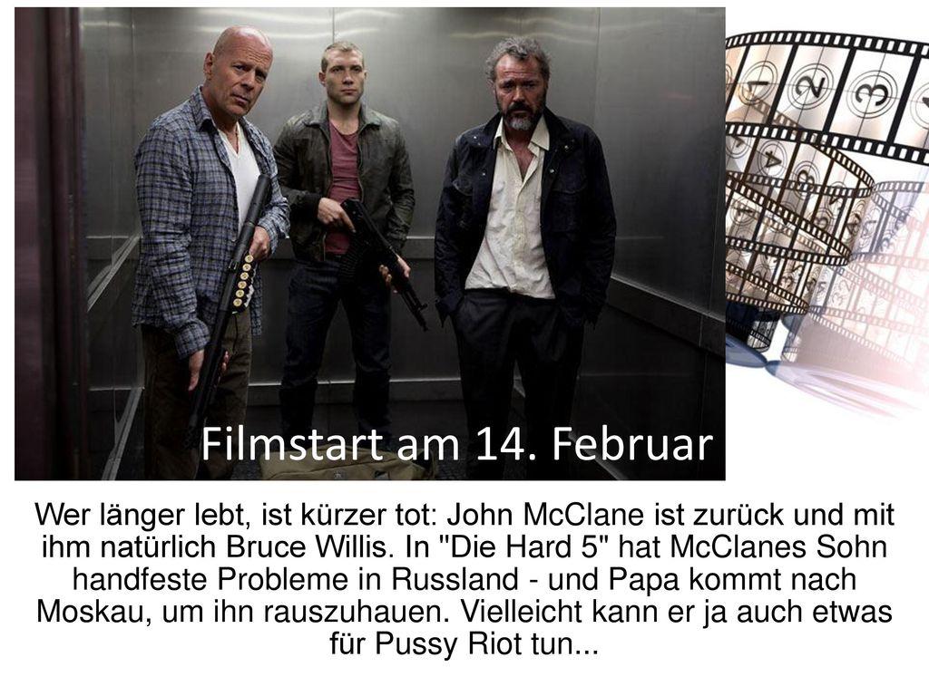 Filmstart am 14. Februar