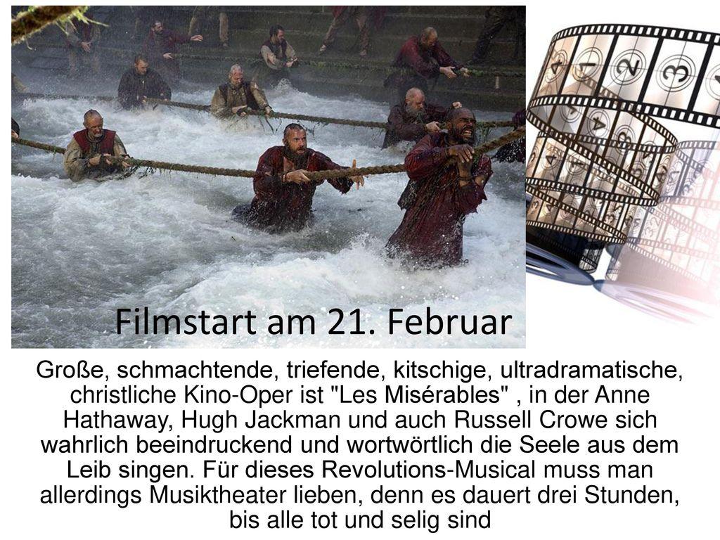 Filmstart am 21. Februar