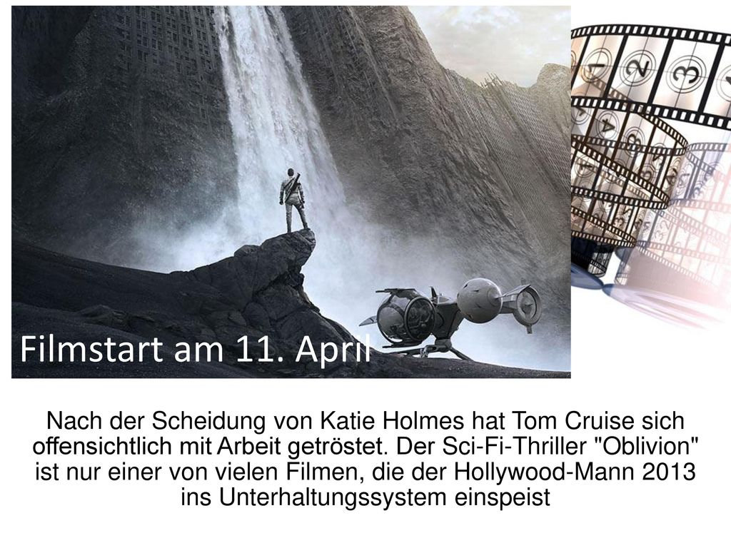Filmstart am 11. April