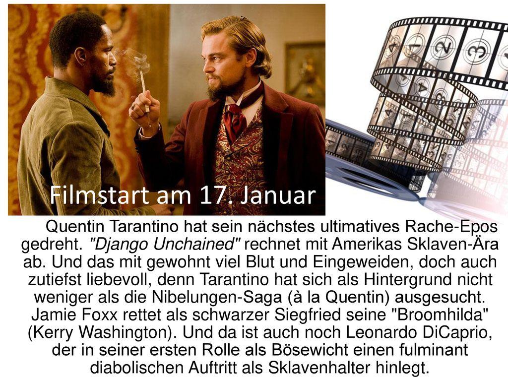 Filmstart am 17. Januar