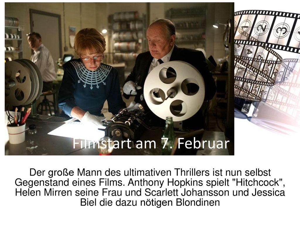 Filmstart am 7. Februar