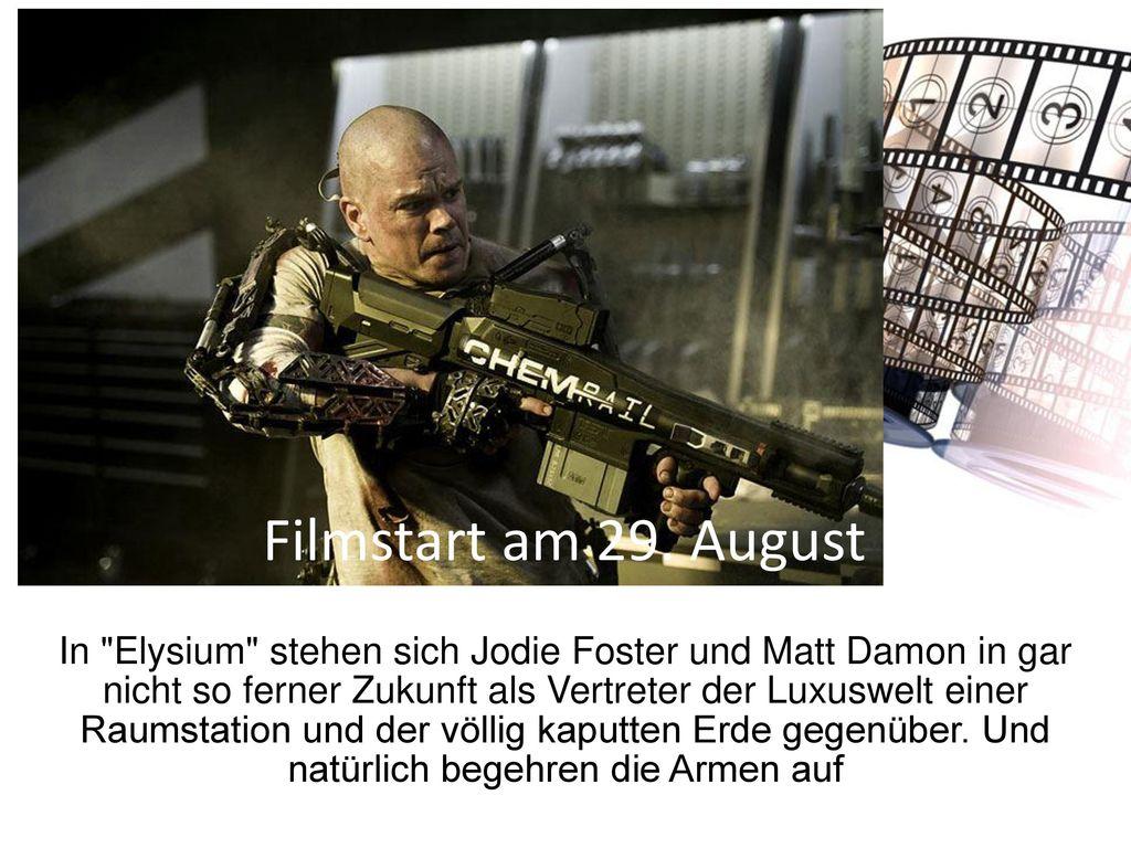 Filmstart am 29. August