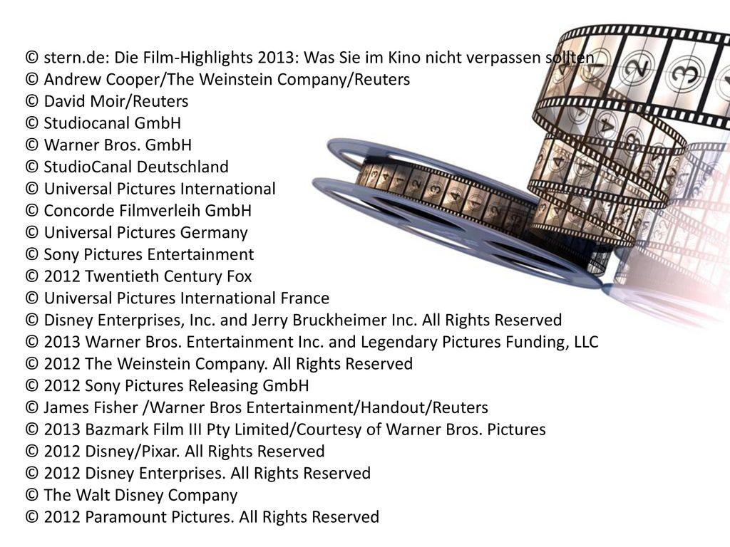 © stern.de: Die Film-Highlights 2013: Was Sie im Kino nicht verpassen sollten