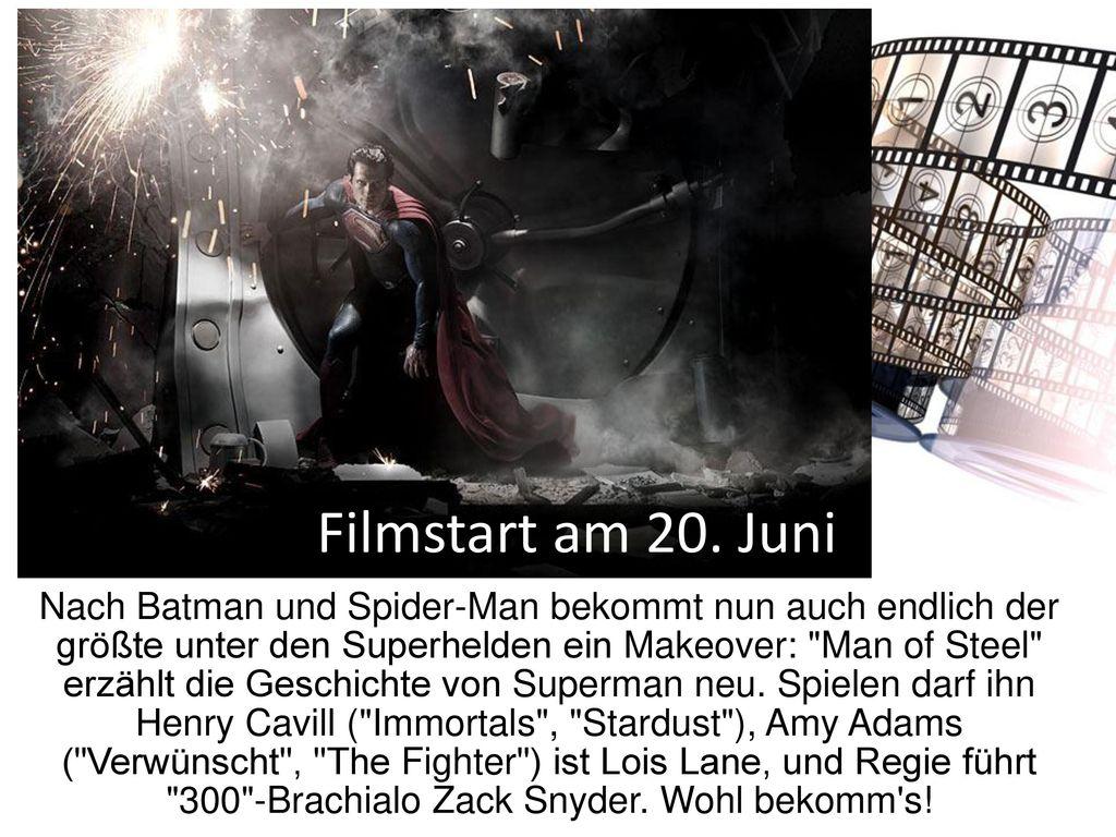 Filmstart am 20. Juni