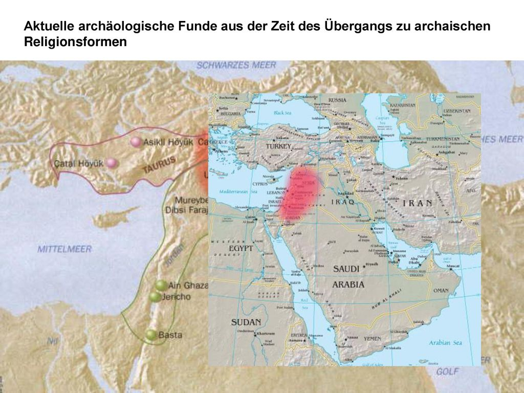 Aktuelle archäologische Funde aus der Zeit des Übergangs zu archaischen Religionsformen