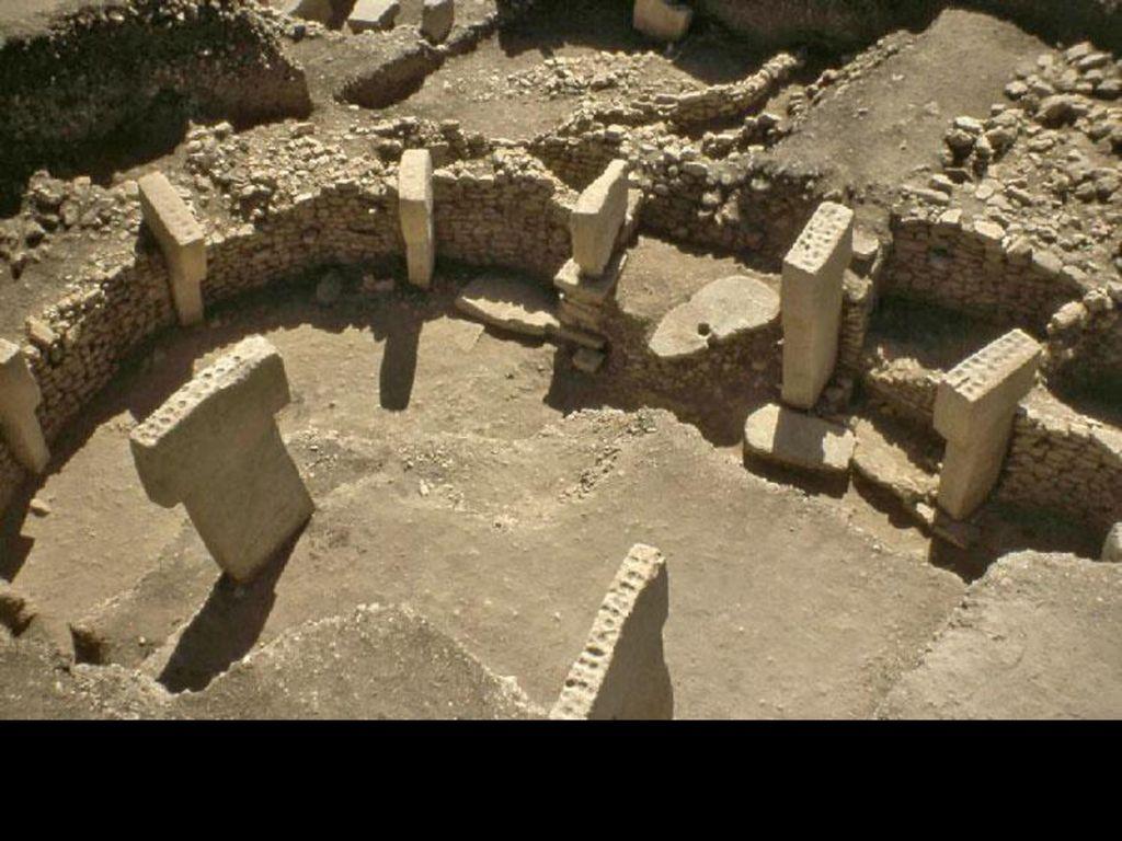 Tempelanlage ( ) in Göbekli Tepe