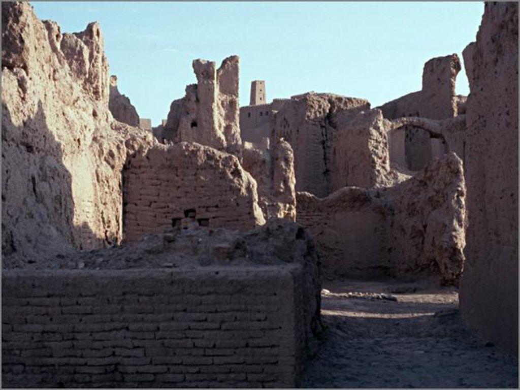 Im Folgenden sehen Sie Bilder von Bam im heutigen Irak. Die Stadt