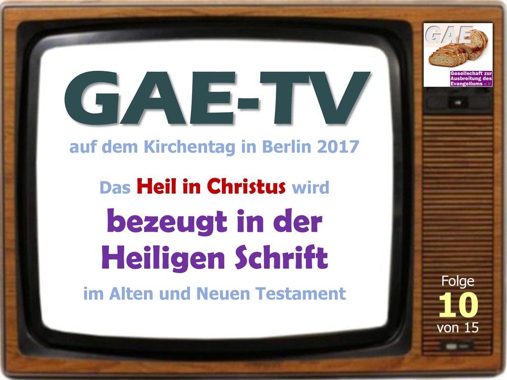 auf dem Kirchentag in Berlin 2017 im Alten und Neuen Testament