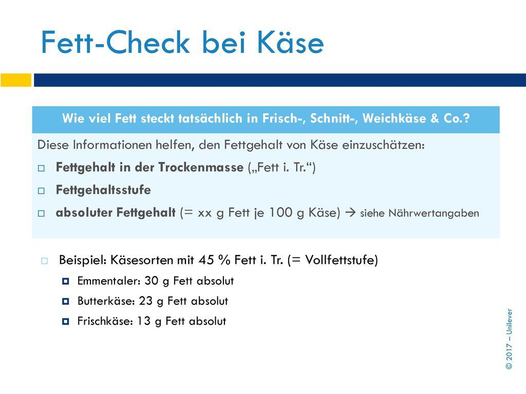 Fett-Check bei Käse Wie viel Fett steckt tatsächlich in Frisch-, Schnitt-, Weichkäse & Co.