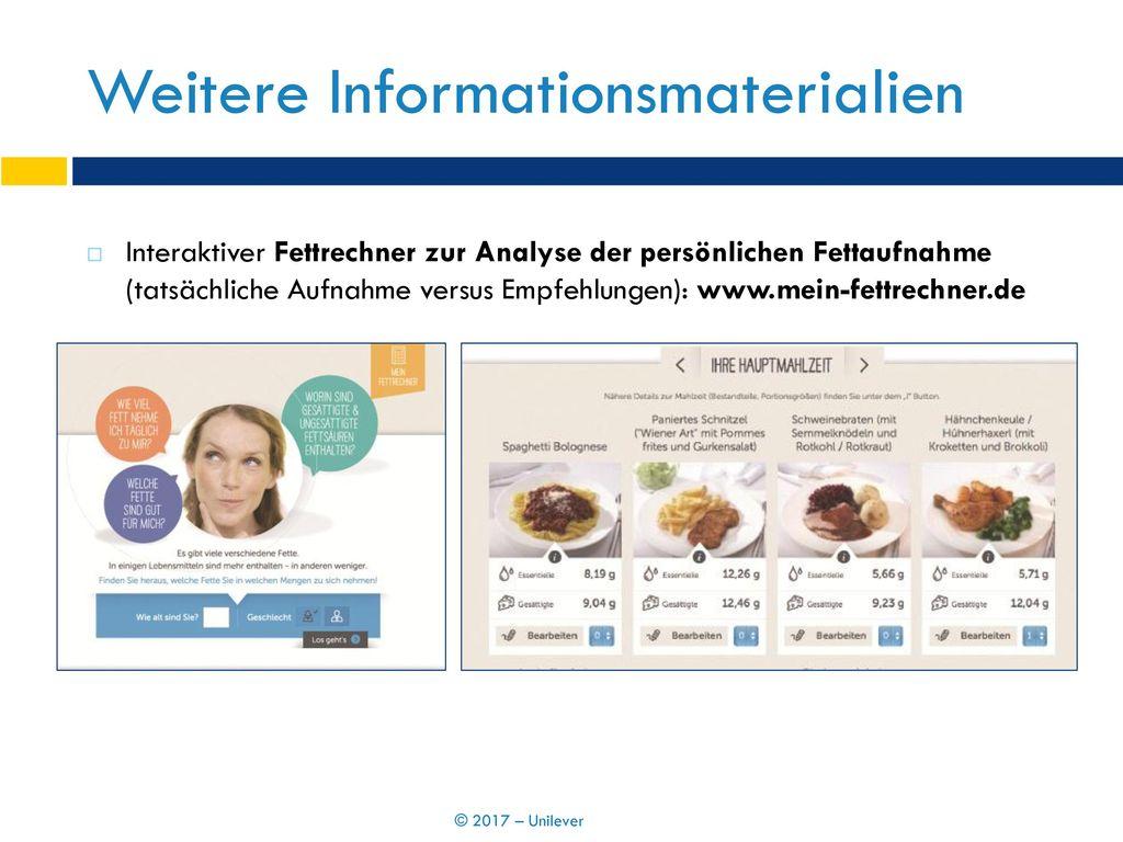 Weitere Informationsmaterialien