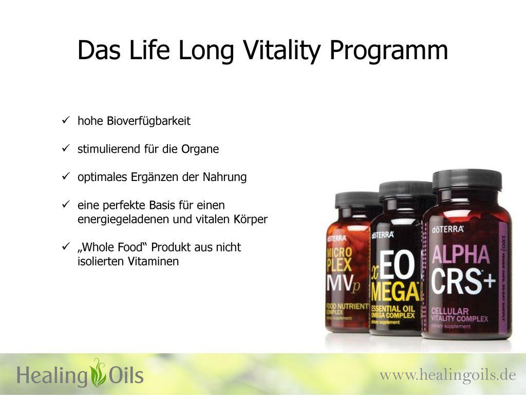 Das Life Long Vitality Programm