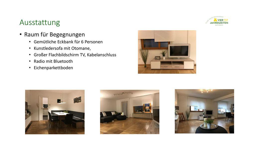 Ausstattung Raum für Begegnungen Gemütliche Eckbank für 6 Personen