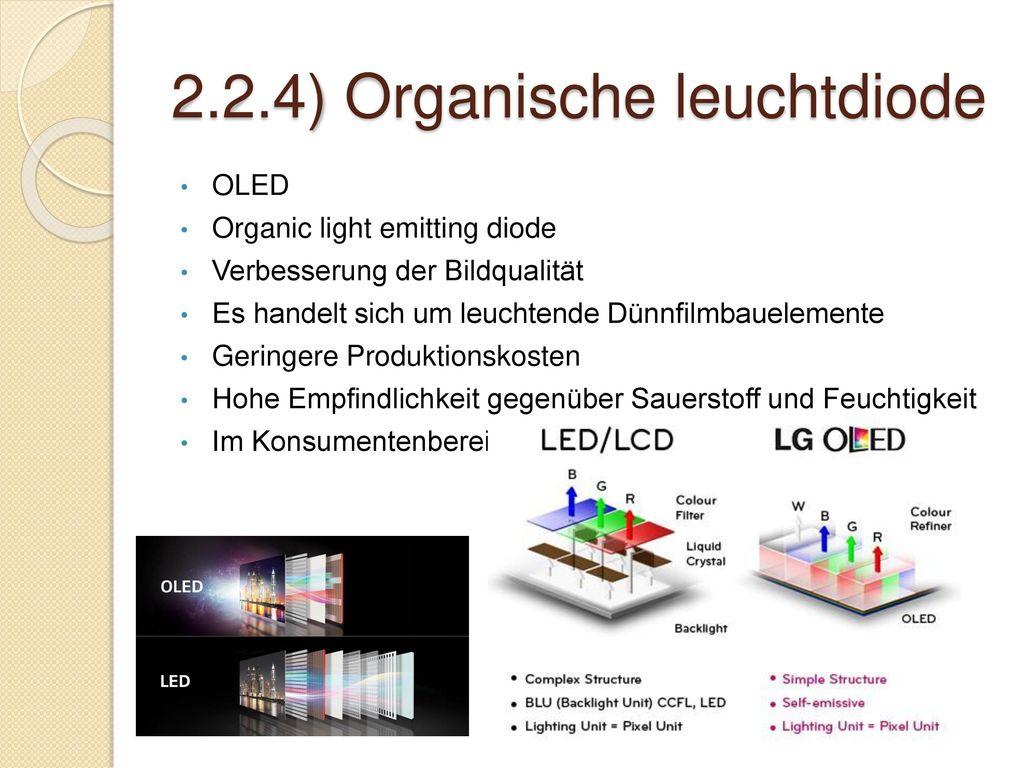 2.2.4) Organische leuchtdiode