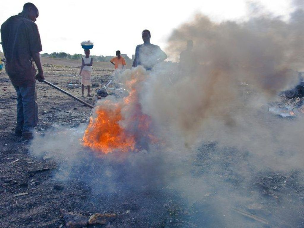 "Bild von ""Rohstoffrecycling a la Nigeria"
