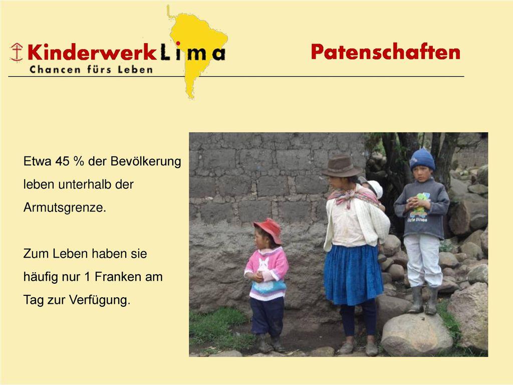 Etwa 45 % der Bevölkerung leben unterhalb der Armutsgrenze