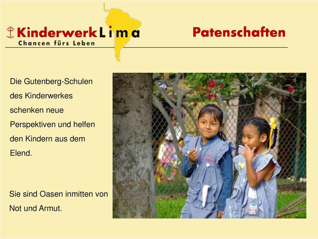 Die Gutenberg-Schulen des Kinderwerkes schenken neue Perspektiven und helfen den Kindern aus dem Elend.