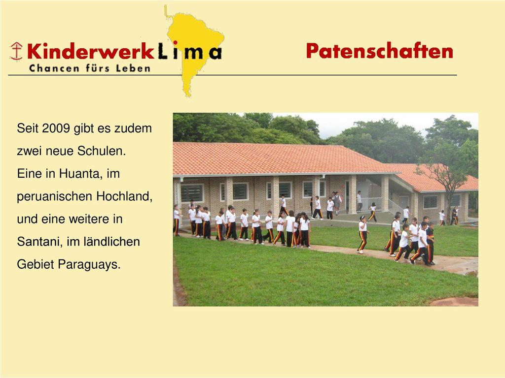 Seit 2009 gibt es zudem zwei neue Schulen