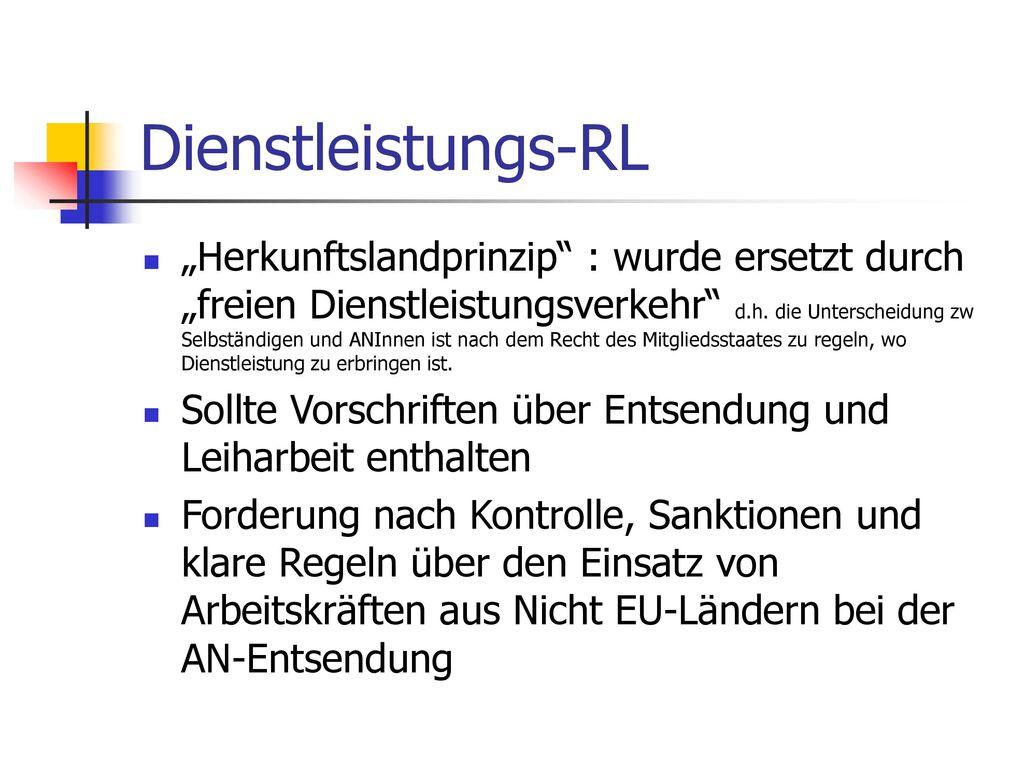 Dienstleistungs-RL