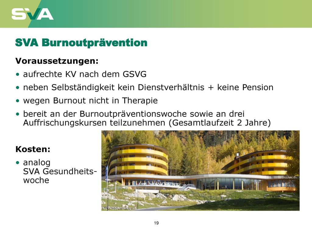 SVA Burnoutprävention