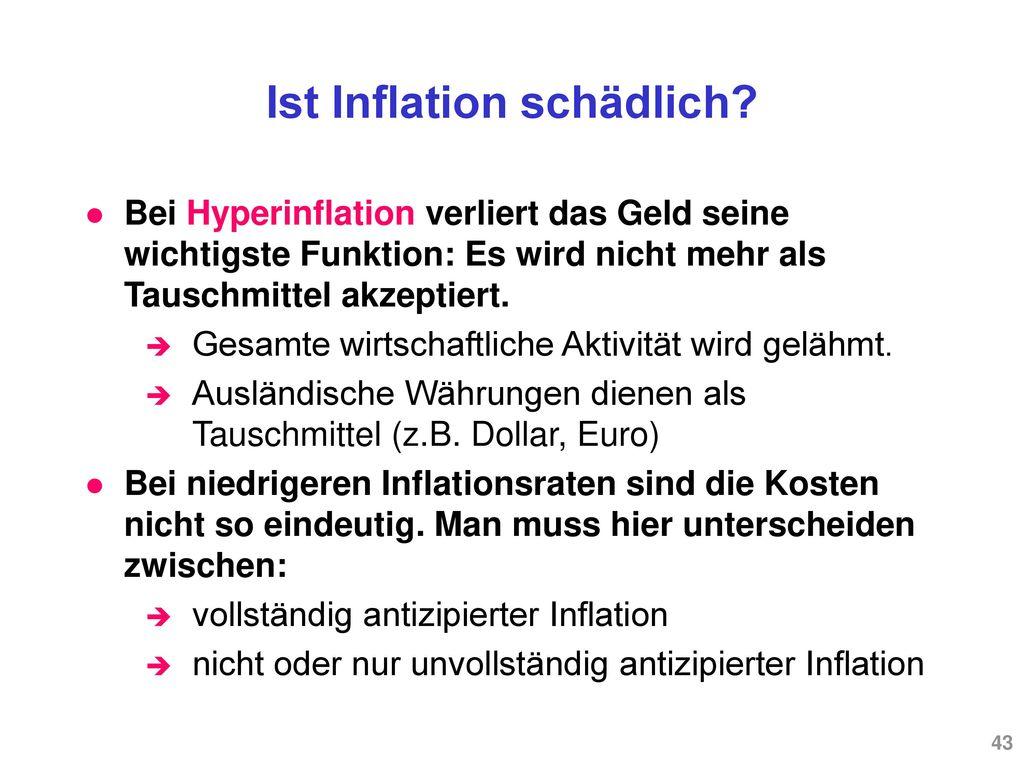 Vorjahresveränderung des LIK als Mass der Inflation (1990-2006)