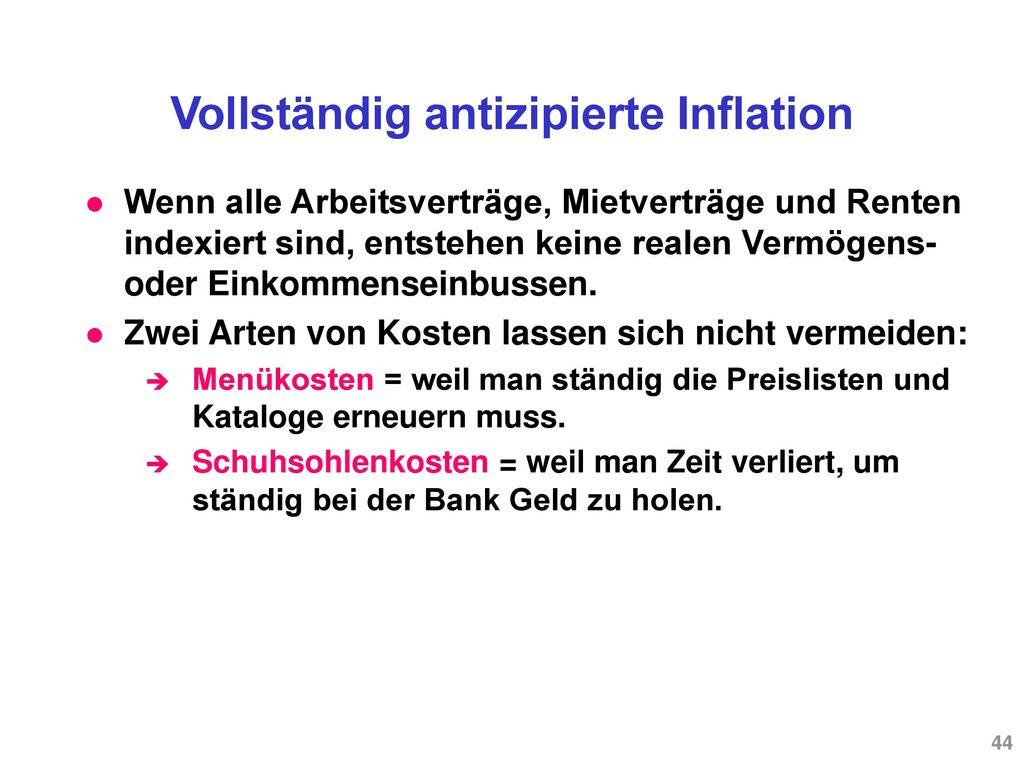 Ist Inflation schädlich