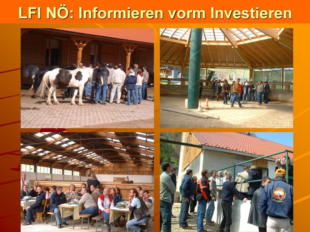 LFI NÖ: Informieren vorm Investieren