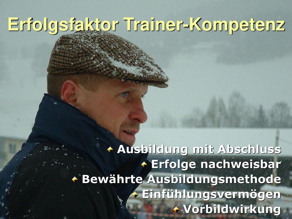 Erfolgsfaktor Trainer-Kompetenz