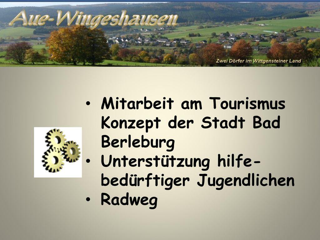 Mitarbeit am Tourismus