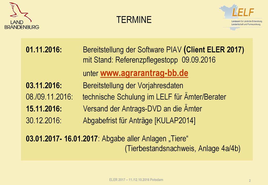 Technische Hotline Hotline gesamt: vom 14.11.2016 bis 09.12.2016