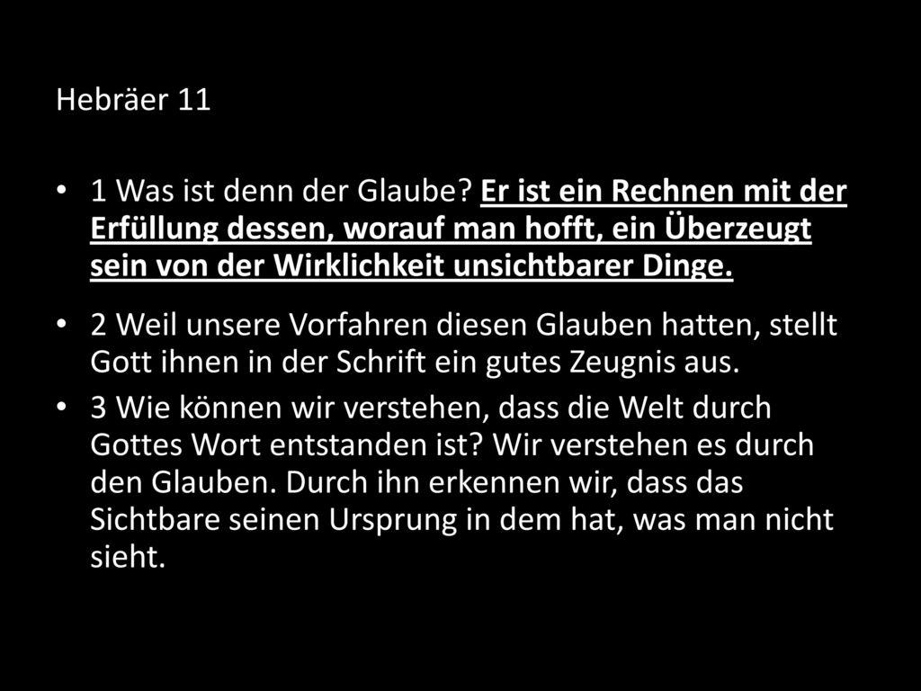 Hebräer 11
