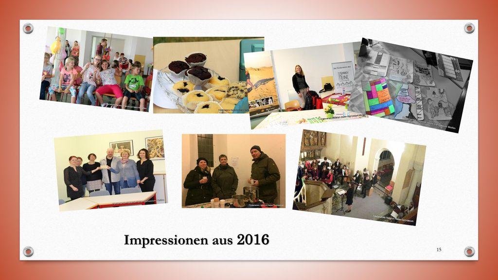 Impressionen aus 2016