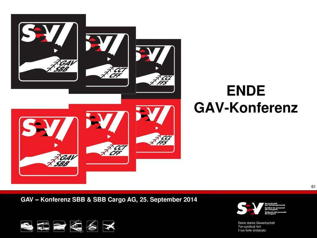 ENDE GAV-Konferenz