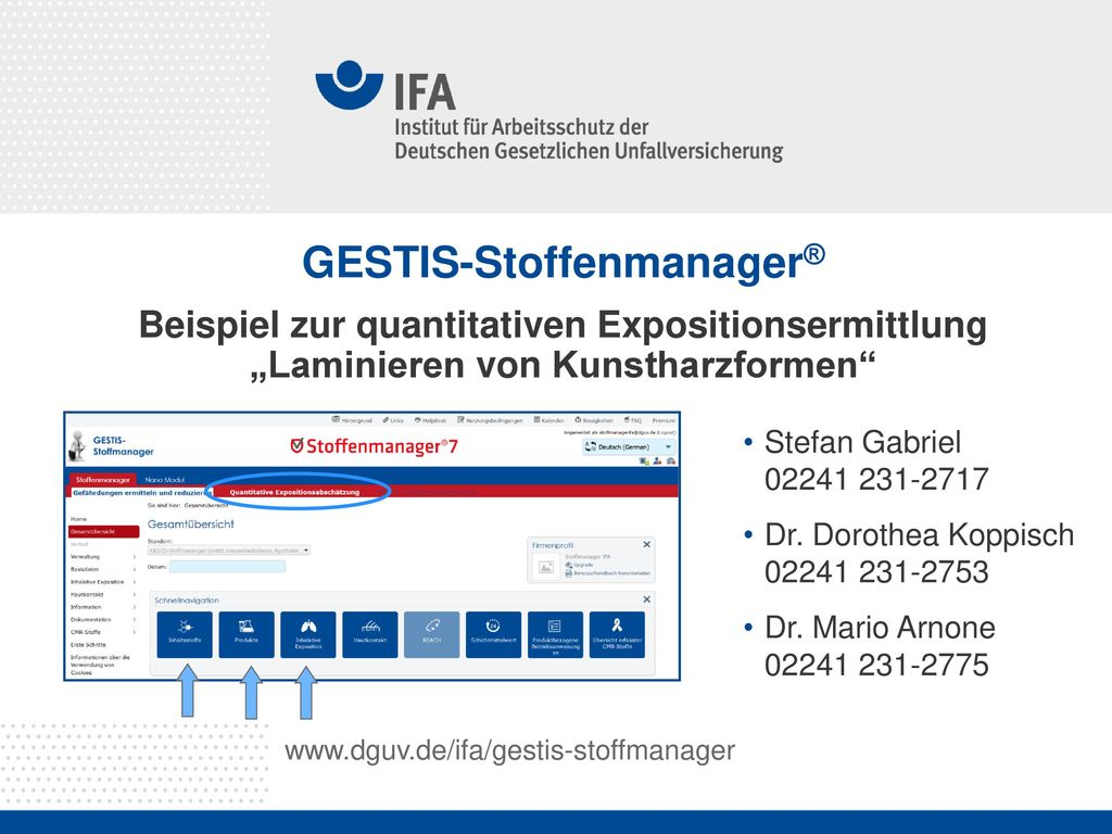 GESTIS-Stoffenmanager®
