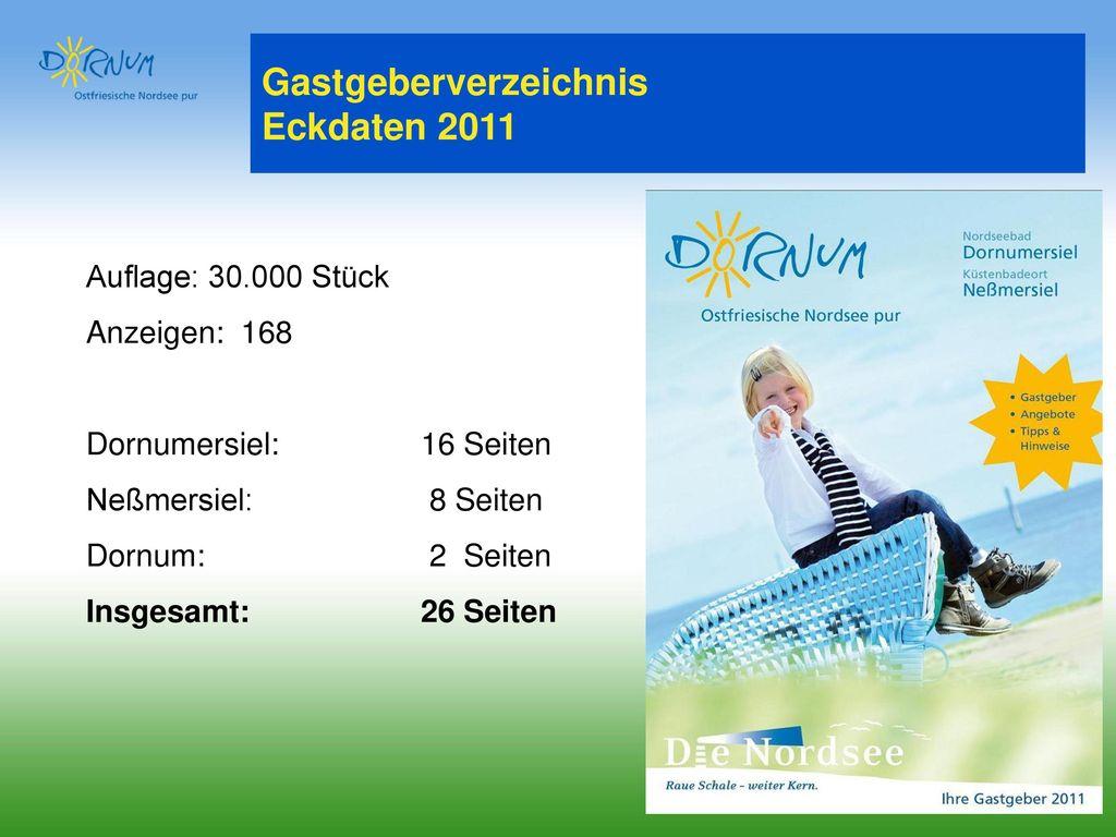 Gastgeberverzeichnis Eckdaten 2011