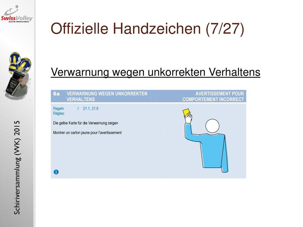 Offizielle Handzeichen (7/27)