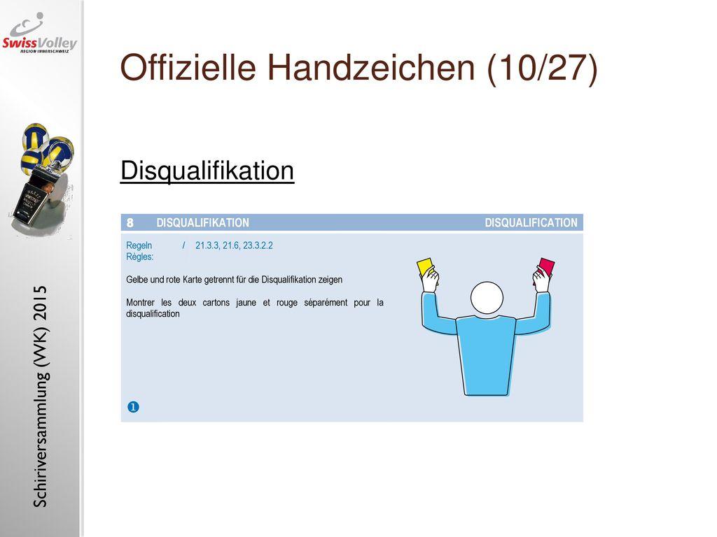 Offizielle Handzeichen (10/27)