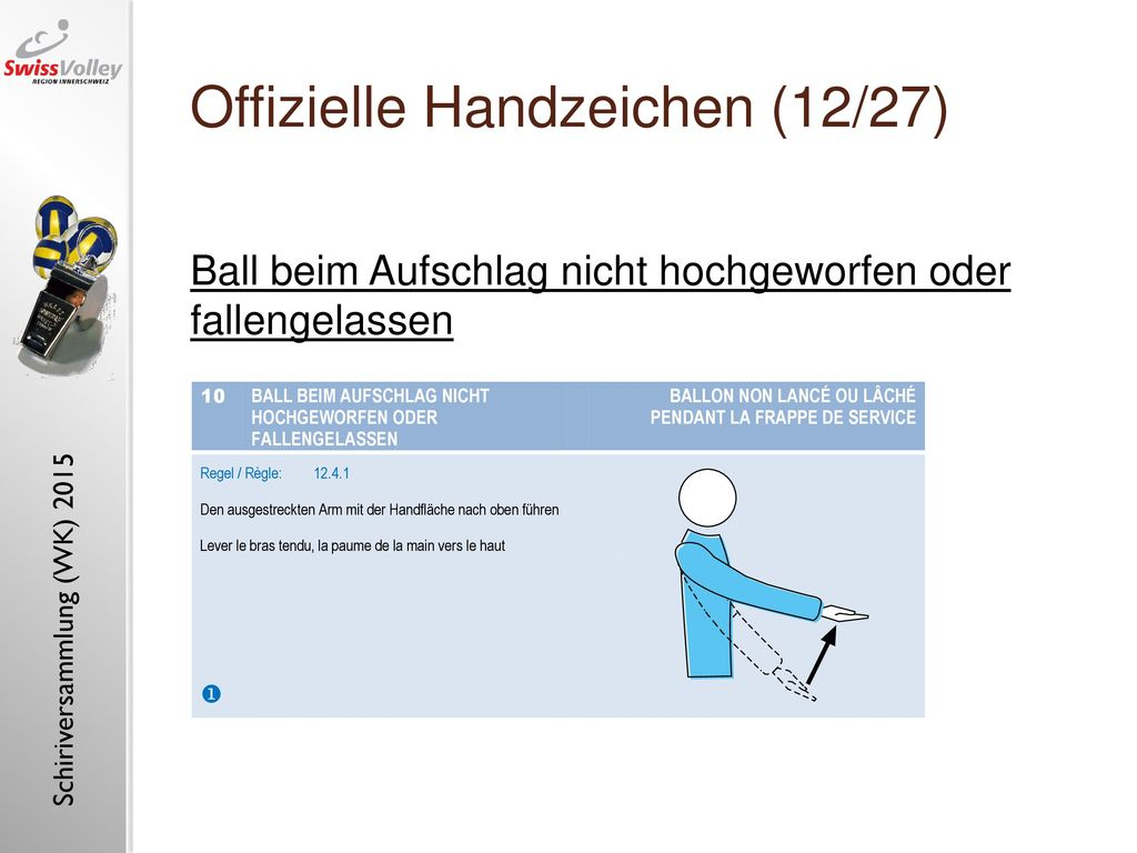 Offizielle Handzeichen (12/27)