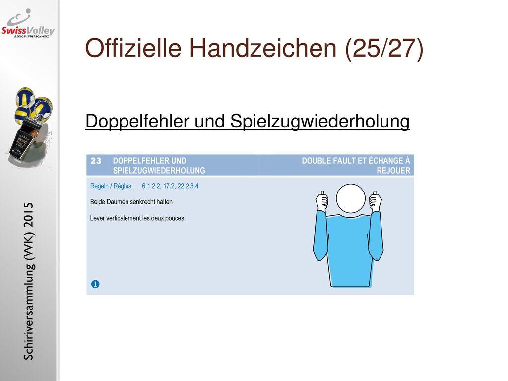 Offizielle Handzeichen (25/27)
