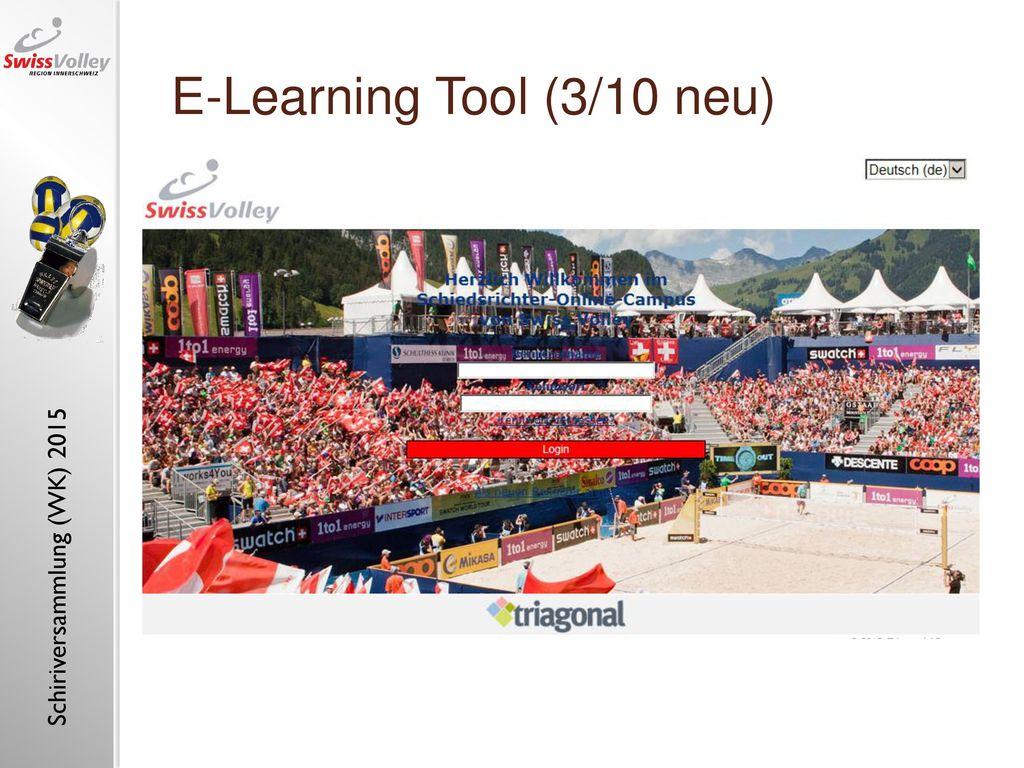 E-Learning Tool (3/10 neu)