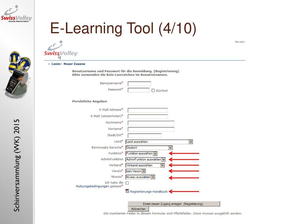 "E-Learning Tool (4/10) E-learning tool ""referee, insight (1)"