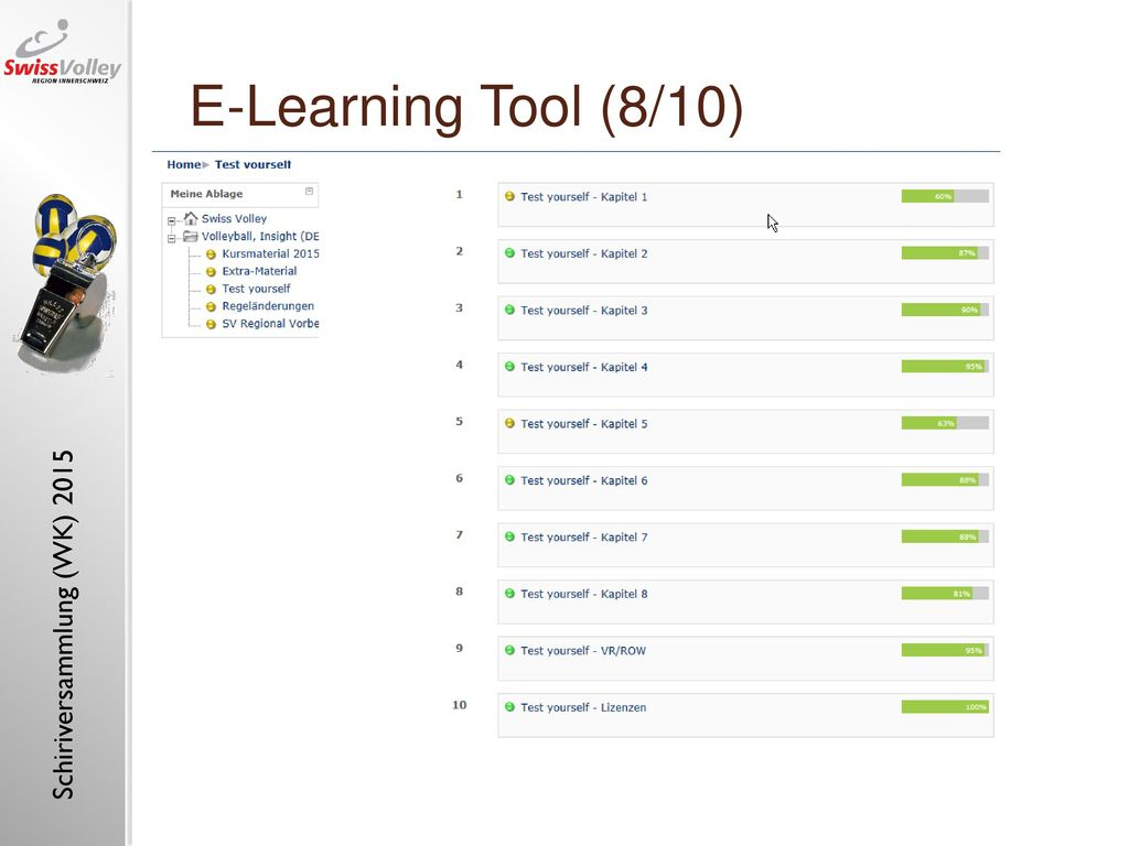 "E-Learning Tool (8/10) E-learning tool ""referee, insight (1)"