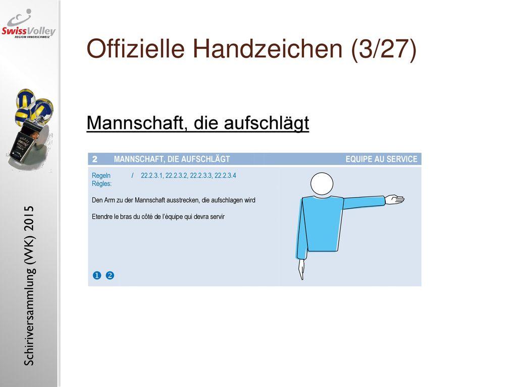 Offizielle Handzeichen (3/27)