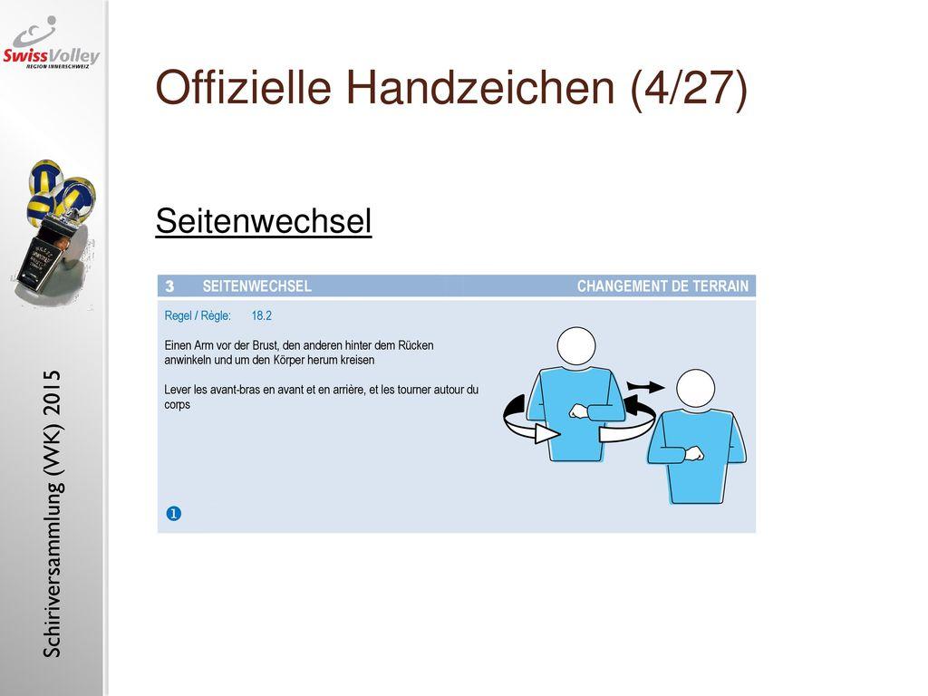 Offizielle Handzeichen (4/27)