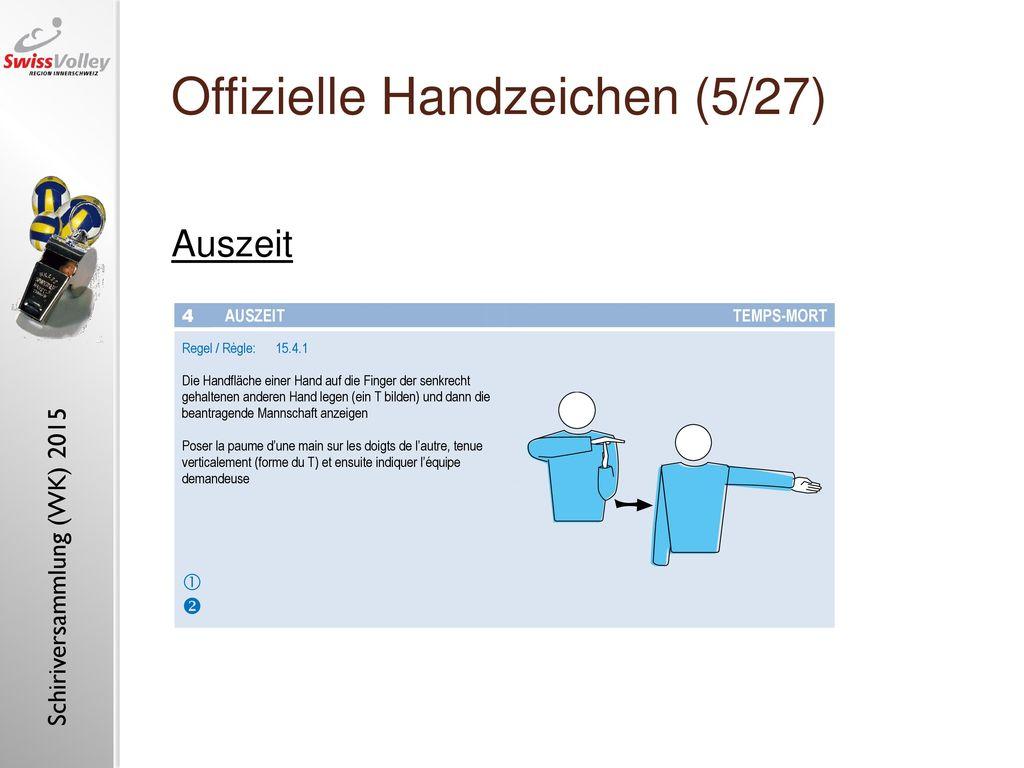Offizielle Handzeichen (5/27)