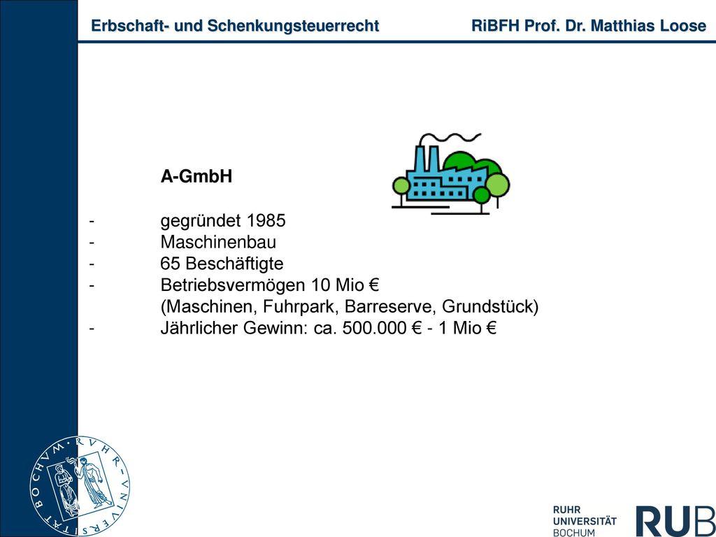A-GmbH -. gegründet 1985 -. Maschinenbau -. 65 Beschäftigte -